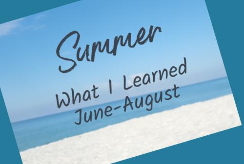 Summer photo header